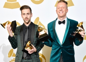 Ryan Lewis e Macklemore no Grammy