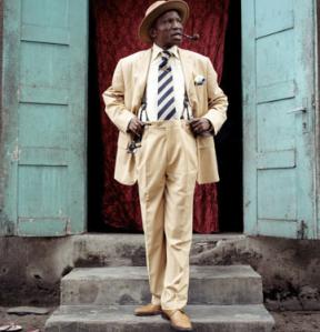 Un sapeur à Brazzaville