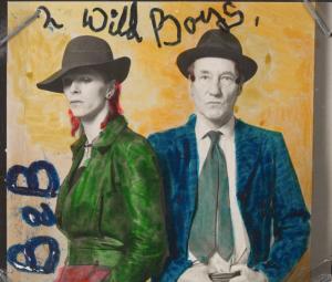 Bowie & Burroughs: wild boys